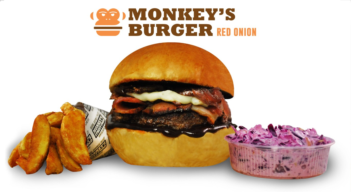 Red Onion Burger Menü