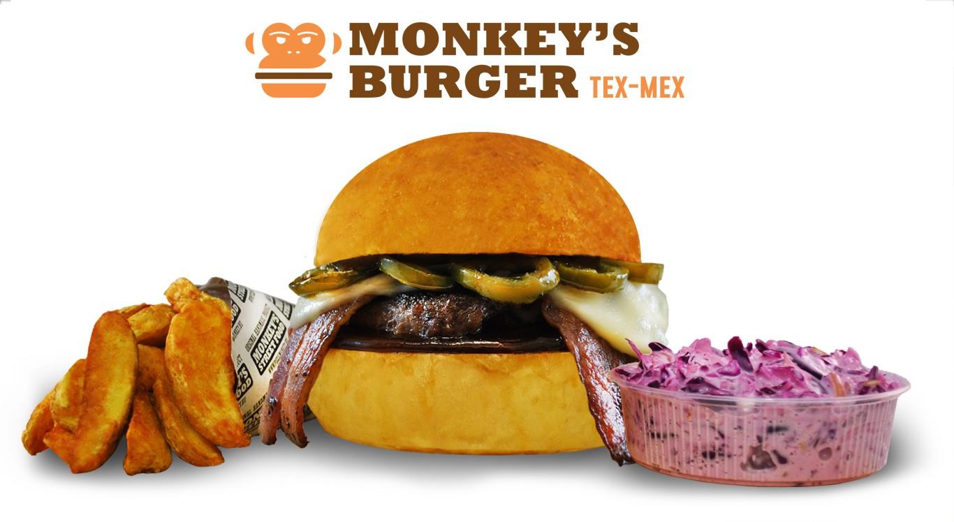Tex-Mex Burger Menü