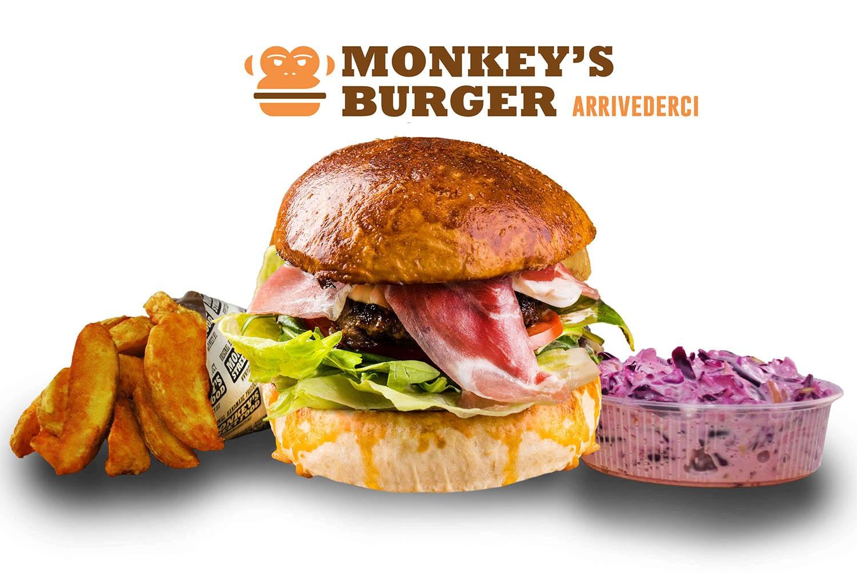 Arrivederci Burger Menü
