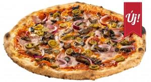 Jalapeno olasz pizza