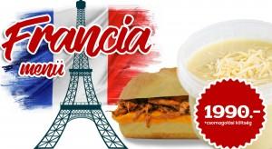 Francia Menü