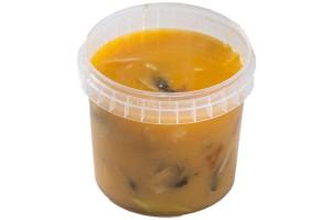 Kókusztejes leves (Tom-Yum) (2.)