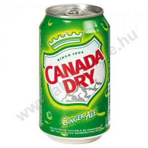 Dobozos Canada Dry