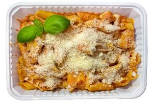Gluténmentes Pasta Amatriciana (ejtsd: amatricsiána) (1 adag)