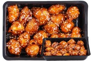 Kínai szezámos bundás csirke (pikáns)