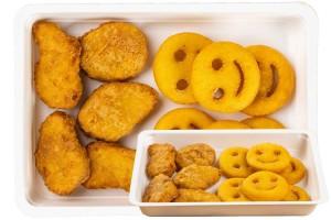 Gyerek Menü (kids csirke nuggets)