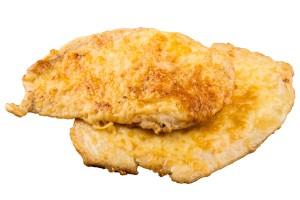 Csirkemell parmezán kéregben