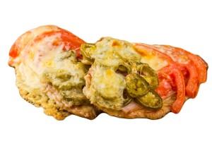 Baconos csirkemell grill zöldségekkel