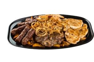 2 személyes grill tál